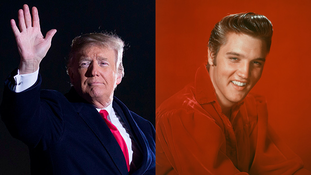 trump dragged on twitter for saying he looked like elvis presley