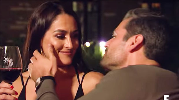 Image result for Nikki Bella Gets Flirty With Peter Kraus After John Cena Split In Steamy New 'Total Bellas' Preview