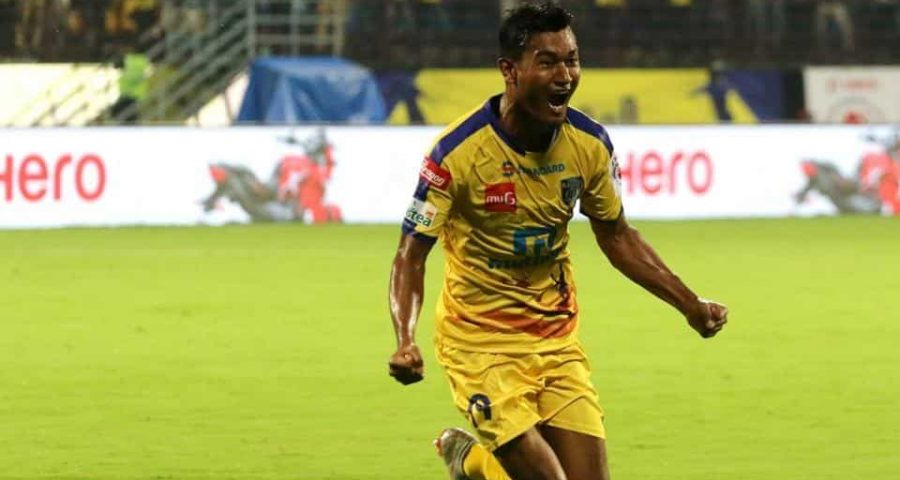 Winger Halicharan Narzary sets target to score goals in
