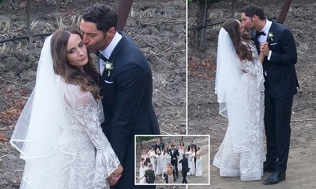 Lucifer star Tom Ellis announces marriage to Meaghan ...